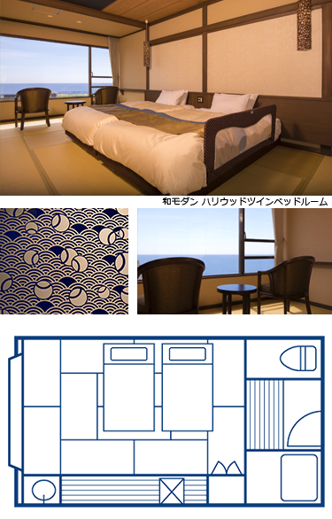 海うさぎの客室